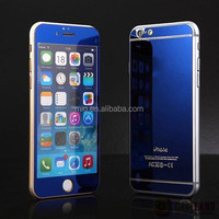 screen protector for iphone 6 4.7', Mirror Surface Plating Tempered Glass Screen Protector Film cell phone accessory