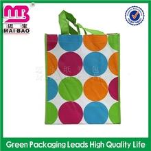 Advanced technology make lamination pp non woven shopping bags