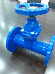 DIN3352/3302 F5 GGG50 resilient seated gate valve pn16