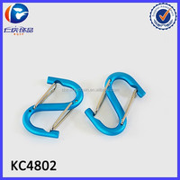Multi-function type aluminum alloy buckle carabiners hooks key chain