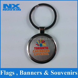 high quality and low price metal/ acrylic small keychain mini running shoe keychain making supplies