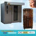 Máquina de horno de rotonda de 36/72trays para cocción de pan