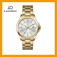 Factory directly selling best gold japan movement watches price