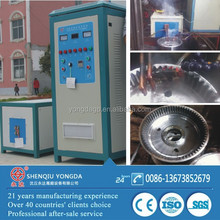 IGBT high efficience induction quenching machine for gear/shaft quenching bearing heater