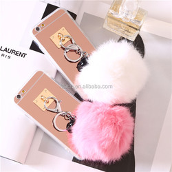 Wholesale alibaba for iphone 6 bumper case,Gold TPU phone case for iphone 6,for iphone 6S mirror TPU winter cellphone case