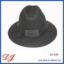 men's wool felt fedora bucket hats