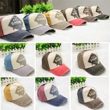 Summer Fashion Baseball Cap Snapback Hats Cap Men Women cheap baseball caps for sale