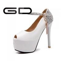 sexy ladies high heels 2015 women shoes