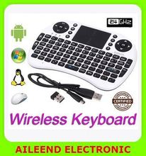 i8 Wireless keyboard Mouse pad For Android PC super mini wireless mouse