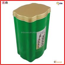 colored packing manufacturer metal hierbas tin box