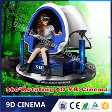 Virtual Reality 3D Glasses Amusement Park 9D Cinema Simulator With Bargaining Price For Wonderful 9D Movies