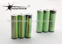 Panasoni c 3400mah 3.7V 18650 li-ion rechargeable battery