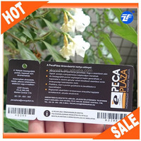Custom plastic pvc barcode key tags/combo cards for sales