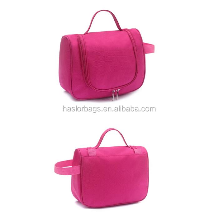 Pliage voyage sac cosmétique / voyage sac de lavage pour femmes