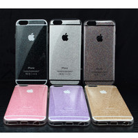 Beautiful Luxury Fashion Flash Powder Soft Case TPU Cover Case For Iphone 6 Plus/6s Plus Case Cover Phone Shell For Iphone 6s