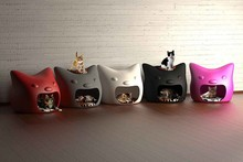Different colors cheap cat houses, pet house for cat, cat houses