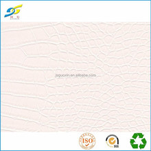 Synthetic leather for handbag material crocodile leather