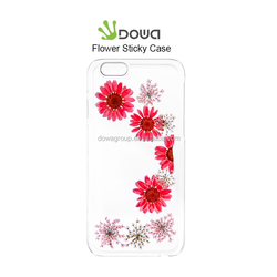 Amazing design of embossed flower epoxy case for iPhone 6s