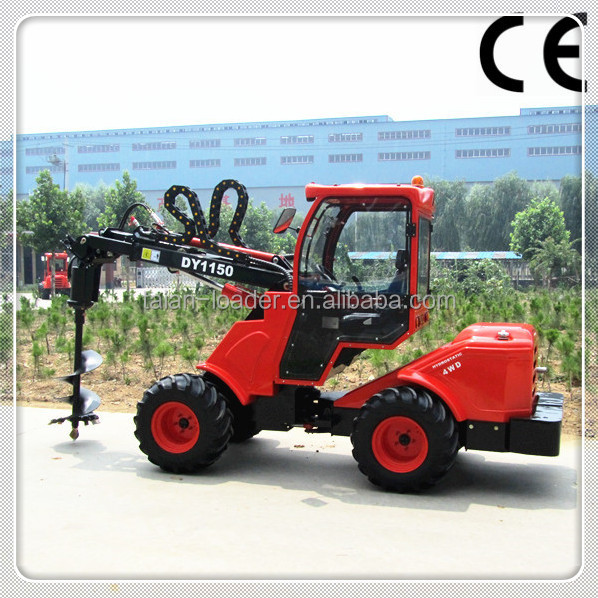 Chinese lawn mower tractor front end loader dy1150 small garden loader for sale view lawn mower for Small garden tractors with front end loaders