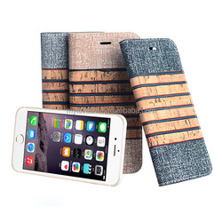Hot sale Factory price classical PU leather cell phone cases for iphone 6