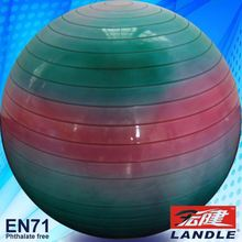 Inflate ball school plastic gym ball