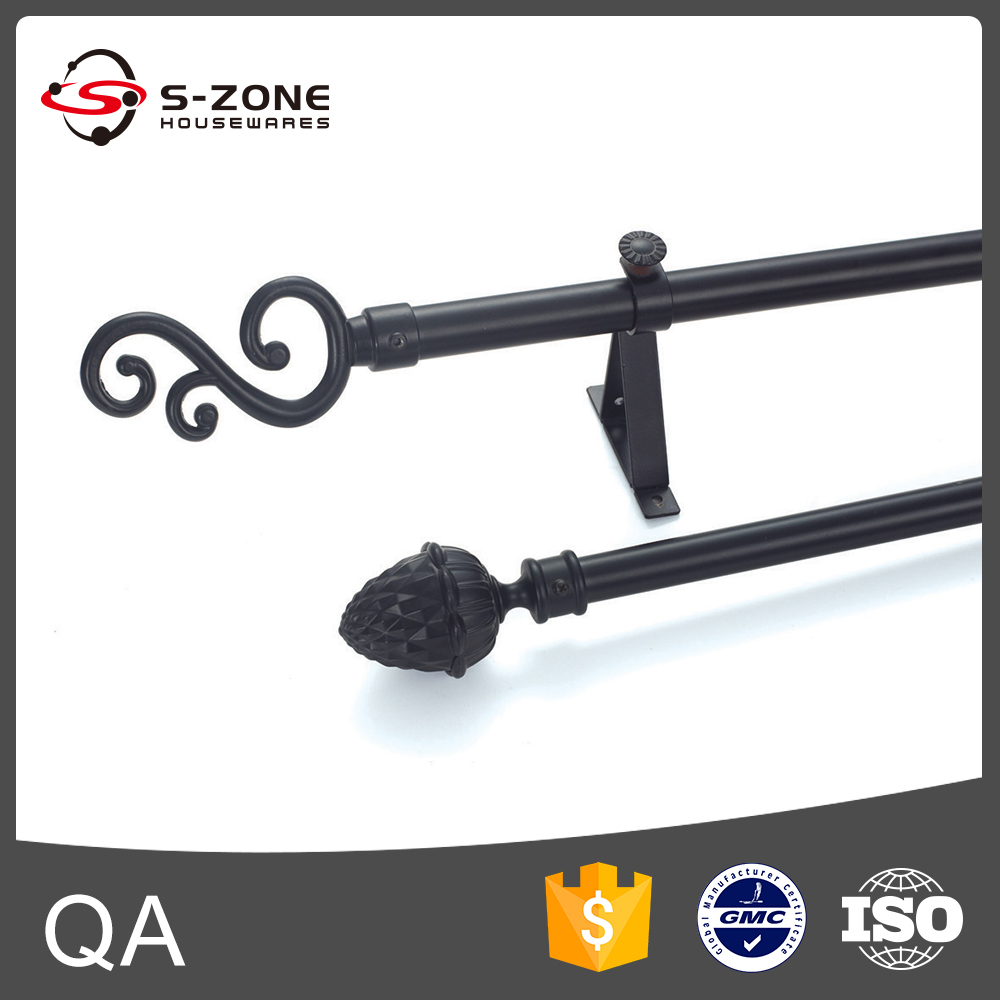 Twisted rod curtain wrought iron curtain rod buy rod curtain wrought