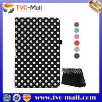 For Samsung 500T Case,Polka Dot Leather Stand Case for Samsung ATIV Smart PC 500T