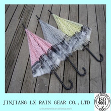 New inventions promotional business gifts straight couple umbrella transparent umbrella