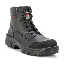 oil and slip resistant sole safety boots/quality safety boots in china/safety shoe with steel toe manufactures