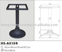 popular metal patio table legs