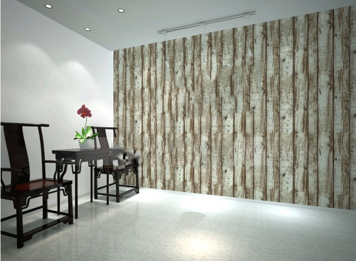 Modern dinning room 3d wood panel vinyl background wall for 3d wallpaper for dining room