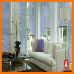 Curtain times Perforated Aluminium Venetian Slats motorized house sunscreen roller