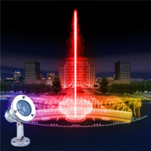 hot Selling led underwater light CE & ROHS 3w LED swimming pool light water fountains rgb