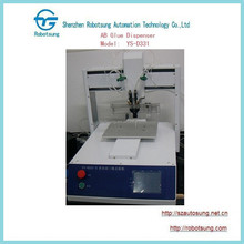 Full automatic AB glue dispenser with working table