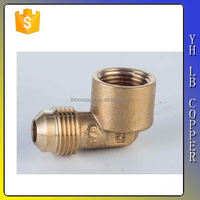 CE approved brass elbow joint pipes with raw surface LB-P9145