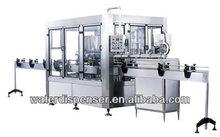 Máquina de llenado de agua 3000BHP de 300ml-2500ml botella PET CGF8/8/3.