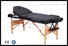Best 3 Section Wooden Massage Table Top Sale
