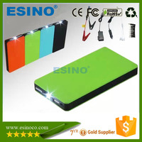 Slim 12V 300A Jump Starter/USB Power Bank 6,000 mAh Lithium Ion Battery