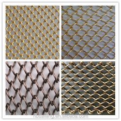 stainless steel decorative metal curtain wire mesh&Ceiling curtain room divider from anping factory