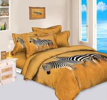 Wholesale Bed Sheet Set 3D Reactive Printed Duvet Cover Set