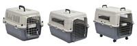 IATA approved airplane transport pet carrier plastic full range of sizes