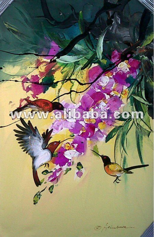 De pájaro abstracto