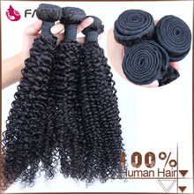 7A quality aliexpress hotsale wholesale cheap Brazilian 3 bundles hair weaving , curly hair extension for black women
