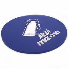 Made in China 2014 classical clear custom plastic cup coasters