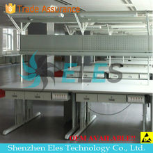 antistatic furniture stainless steal working bench