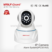 Hot wifi gsm home ip camera alarm system with monitoring function
