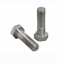 Hexagon head bolts grades A and B partially threaded DIN 931