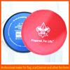 Company advertising nylon flying frisbee