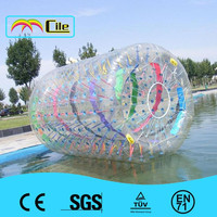 Child swimming pool water roller /inflatable water roller/inflatable aqua roller ball