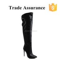 stiletto high heel sexy thigh high women boots
